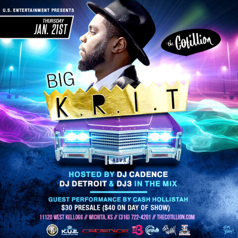 Big Krit Cotillion Wichita KS by Slim, Baby!